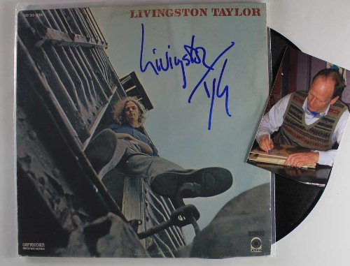 Livingston Taylor Signed Autographed