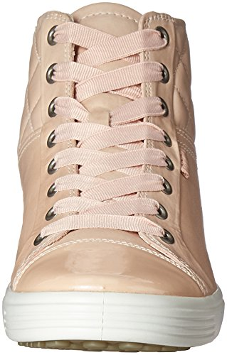 Ecco Damen Soft 7 Ladies High-Top Pink (50366rose Dust/rose Dust)