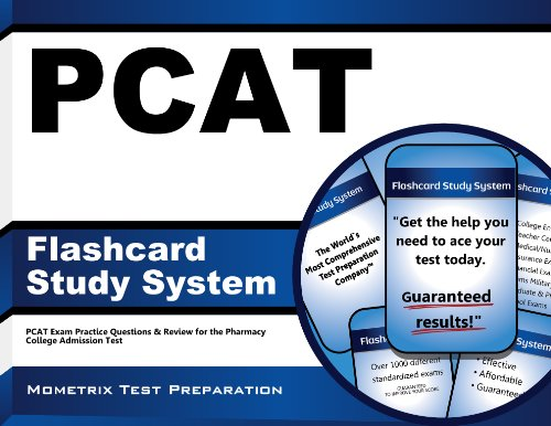 PCAT Flashcard Study System: PCAT Exam Practice Questions & Review for the Pharmacy College Admission Test