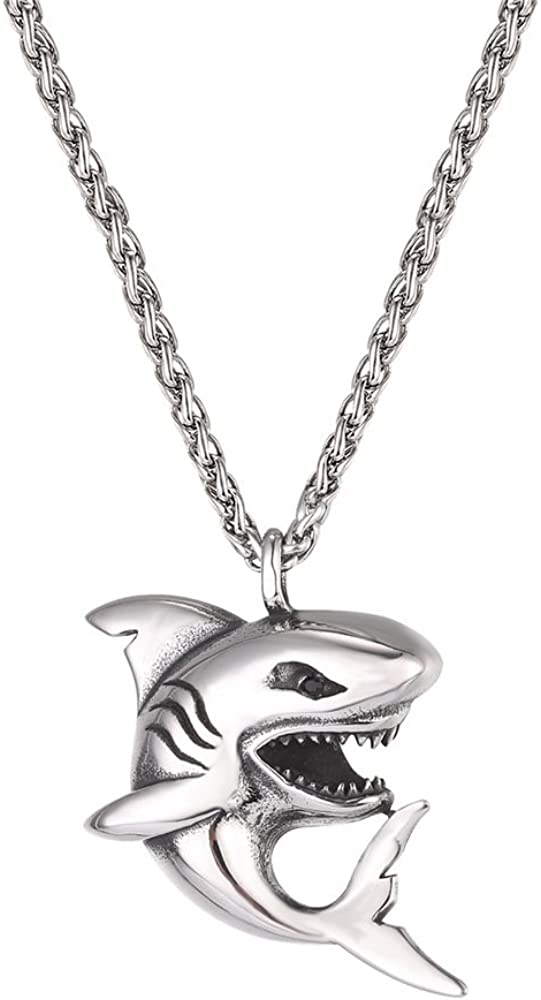 Top 9 Shark Teeths Necklace