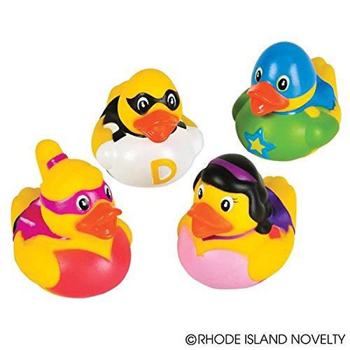 GIFTEXPRESS Super Hero Rubber - Superhero Ducks Rubber