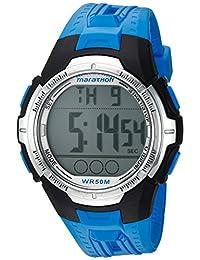 Marathon by Timex - Reloj de tamaño completo, Maratón, Azul/Negro