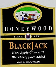 NV Honeywood Winery BlackJack Fruit Wine 750 mL