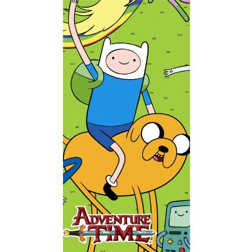 Hallmark Adventure Time Plastic Table Cover (1ct) (Adventure Table)