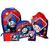 Thomas the Tank Engine Luggage Set, 40 cm, 11.5 Liters, Blue
