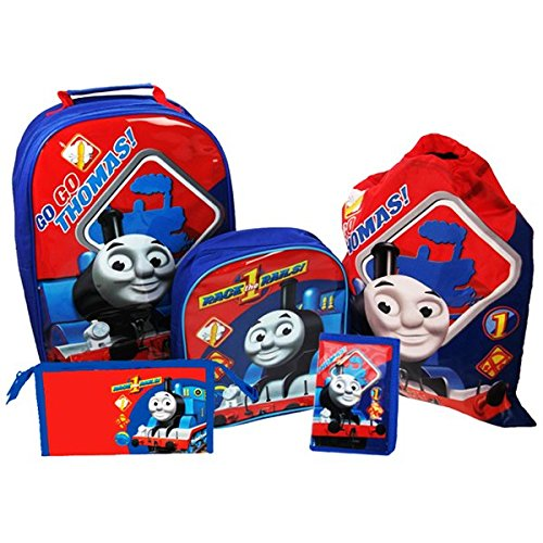 Thomas & Friends Set di valigie, blu (Blu) - THOMAS001169