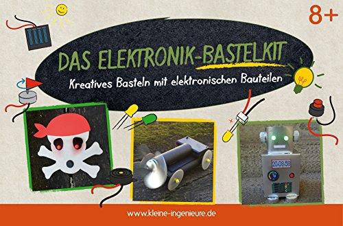 Das Elektronik-Bastelkit. Kreatives Basteln mit elektronischen Bauteilen. Die schönsten Bastelideen rund um das Thema Strom. Mit allen elektronischen Bauteilen inkl. Anleitung.