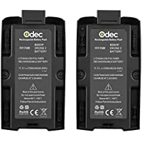 Odec Parrot Drone 11.1V 3100mAh Battery for Parrot Bebop 2 Drone, 2 Pack Lithium-ion Rechargeable Battery Pack