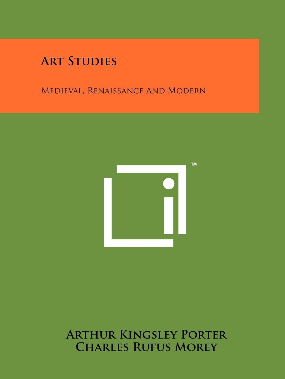 Download Art Studies: Medieval, Renaissance And Modern ebook