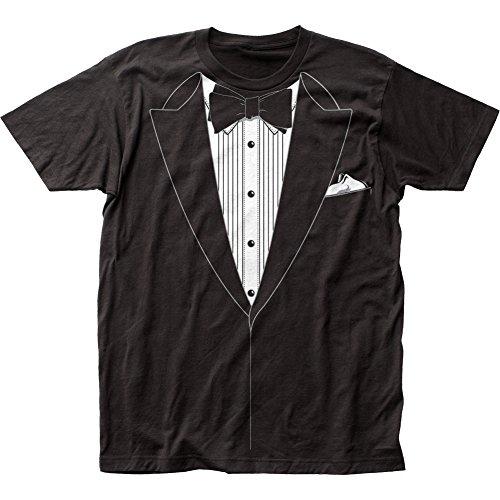 Impact Black Tuxedo T-shirt, Black, XX-Large