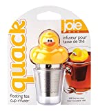 Joie Quack Duck Floating Tea Infuser, 18/8 Stainless Steel Infuser