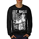 High Top Sneaker Shoe Urban Love Men NEW S-7XL Sweatshirt | Wellcoda