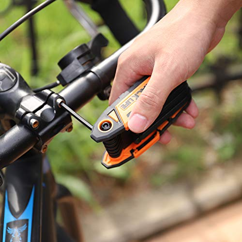 Folding Hex Keys, TACKLIFE 12-Key Ball End Folding Hex Wrench Set, 2 Pack, Metric 1.27-8mm, Chrome Vanadium Steel - HAK3A by TACKLIFE (Image #6)