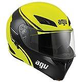 AGV Numo Modular Motorcycle Helmet (Hi-Viz, Large)