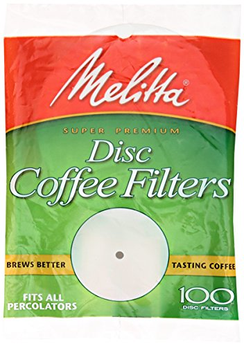 Melitta Disc Coffee Filter, 3.5