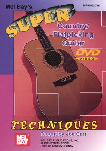 Super Country/Flatpicking Guitar Techniques Guitar (Flatpicking) Dvd [Region 1] [NTSC]