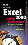 Msexcel 2000 Quick Reference, Nancy Warner, 0789720272