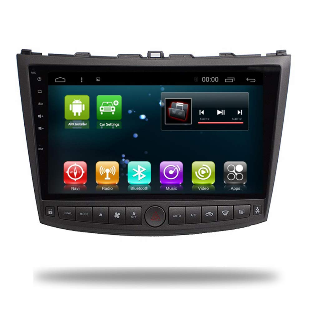 Car Radio GPS Android 7.1 Navi Player for Lexus IS250 IS200 IS220 IS300 Head Unit Car GPS Stereo Multimedia Video in Dash Audio Navigaton with WiFi ...