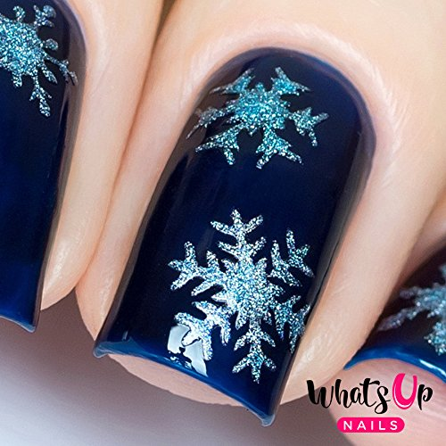 whats-up-nails-gold-merry-snowflake-nail-stencils-stickers-vinyls-for-nail-art-design-1-sheet-20-sti