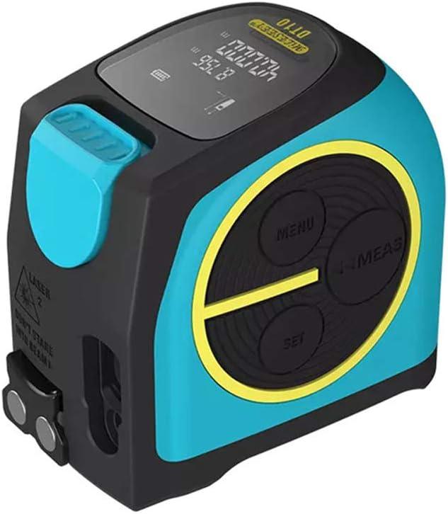 Cinta métrica láser Mijia, telémetro láser 2 en 1 con pantalla digital LCD Gancho magnético Carga USB