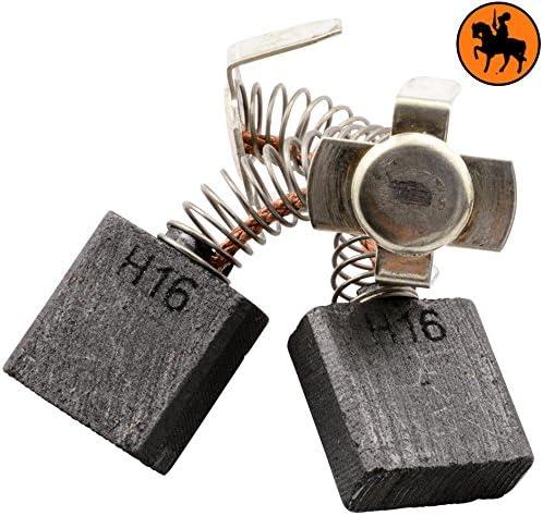 Avec arr/êt automatique 2.8x6.7x6.7 7x17x17mm Balais de Charbon pour HITACHI G 23SF coupeuse//scie