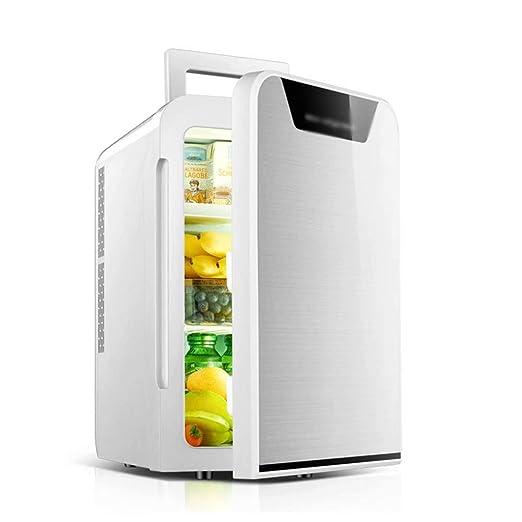 Refrigerador para Autos 20 l, Refrigerador de Doble núcleo Mini ...