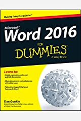 Word 2016 For Dummies Kindle Edition
