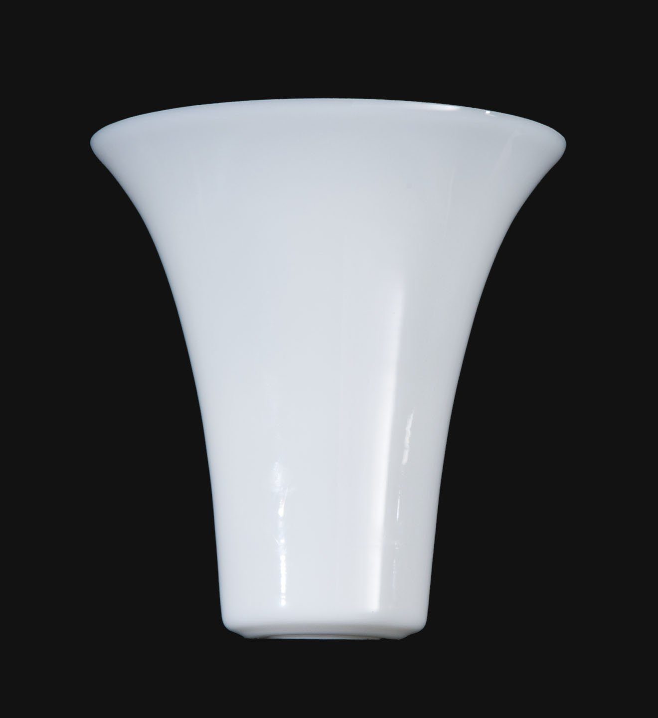 B&P Lamp Opal Glass Tulip Shaped Torchiere Shade by B&P Lamp