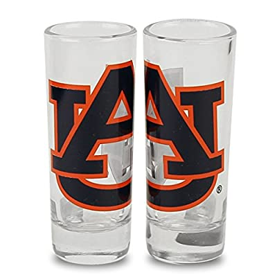 NCAA Color Team Logo 2 oz Cordial Shot Glass 2-Pack