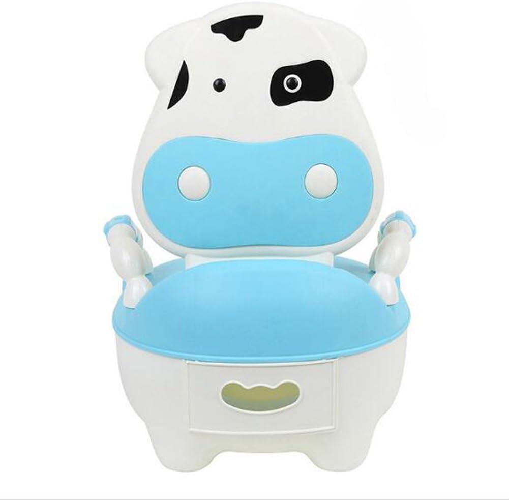 Orinal para Infantil Niño WC con Tapa Azul