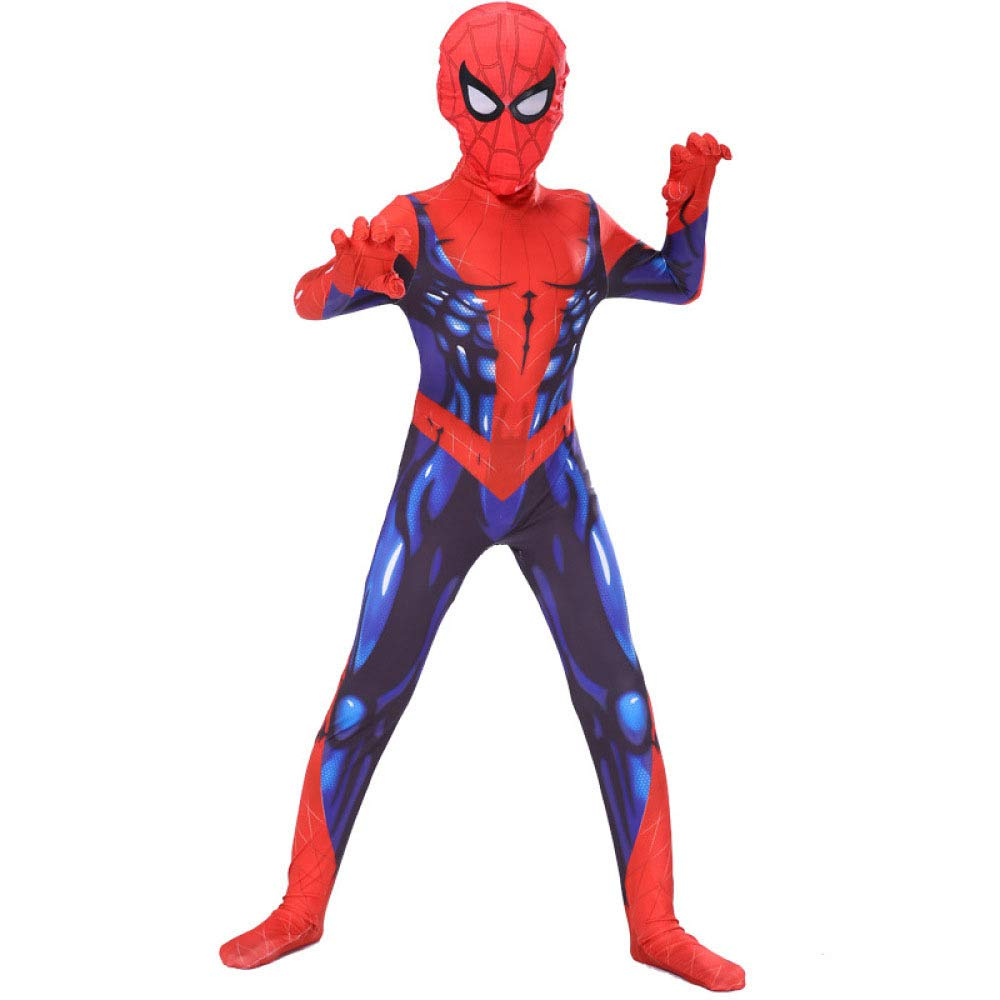 BLOIBFS Carnaval Spiderman Disfraz,Superhéroe Halloween ...