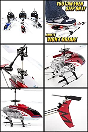 World Tech Toys 3.5CH Gyro Hercules Unbreakable Remote Control Helicopter