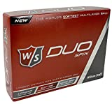 Wilson Duo Spin Golf Ball 12-Ball Pack