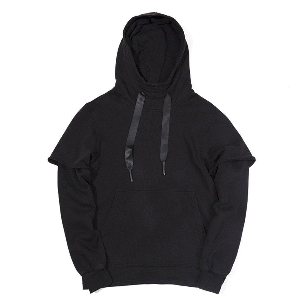 Lisux männer - Casual Mode Pulli gewaschen Baumwolle Farbe Kapuzen - Sweater,Bild - Farbe,l