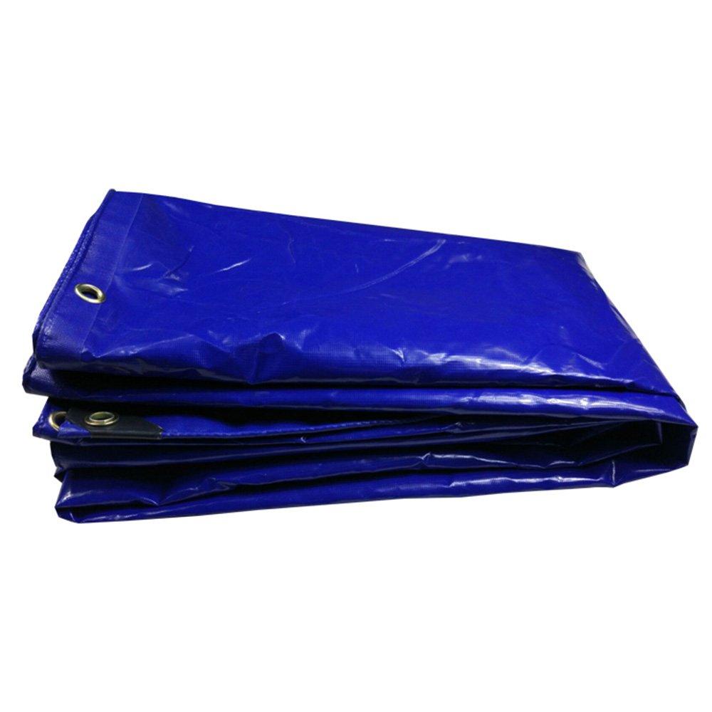 テントの防水シート 耐久性の高い防水カバー - 厚い防水性、耐UV性、腐敗性、裂け目および裂け目グロメットと強化エッジ付き防水シート350g/m²-0.32mm それは広く使用されています (サイズ さいず : 4mx5m) B07FBMD5WN 4mx5m  4mx5m