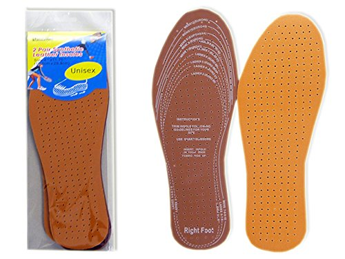INSOLES HEALTH LEATHER COLOR , Case of 288