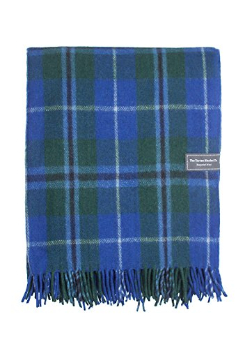 The Tartan Blanket Co.. Recycled Wool Blanket Douglas Tartan (68