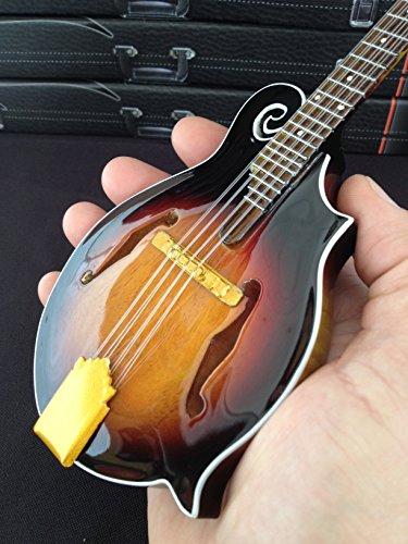 Classic Folk Bluegrass Mandolin Miniature Handmade Replica ()