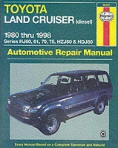 Toyota Land Cruiser (diesel) 80-98 by Kibler, Jeff, Maddox, Robert, Haynes, J. H. 2nd (second) Revised Edition (2001) ()