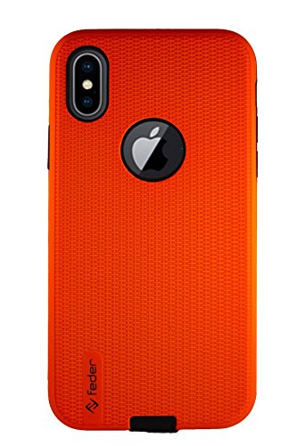 custodia iphone x arancione