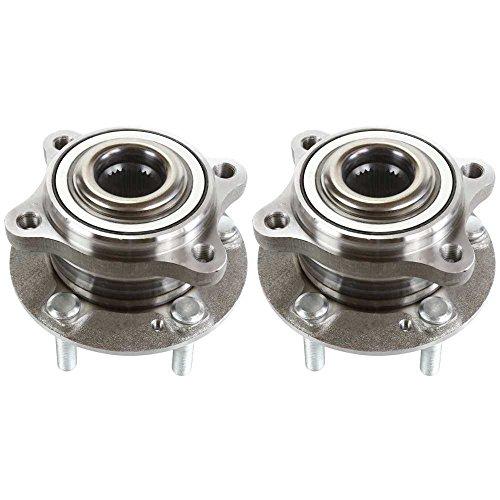 Kia Wheel Hub Assembly (Prime Choice Auto Parts HB613268PR 2 Front Wheel Hub Bearings Assembly Units)