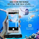 Mpow [Upgraded] Universal Waterproof Case, IPX8 Waterproof Phone Pouch Dry Bag for iPhone8/7/7plus/6s/6/6s plus Samsung galaxy s8/s7 LG V20 Google Pixel HTC10 (Clear 2-Pack)