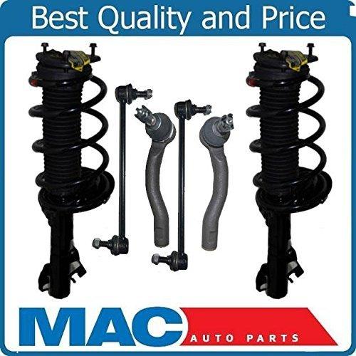Mac Auto Parts 136659 2 Frt Strut & Coil Spring Quick Struts 2 Tie Rods 2 Sway Bar New 16L 16R (2005 Toyota Corolla S Struts compare prices)