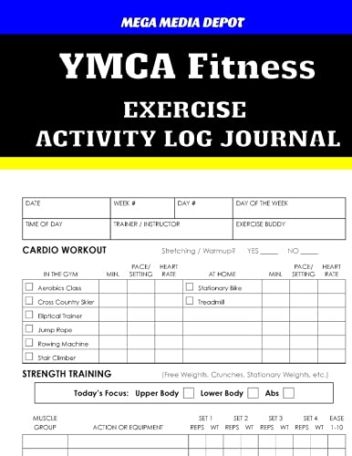 Read Online YMCA Fitness Exercise Activity Log Journal PDF
