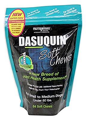 Nutramax Dasuquin Soft Chews for Dogs under 60 Lbs.