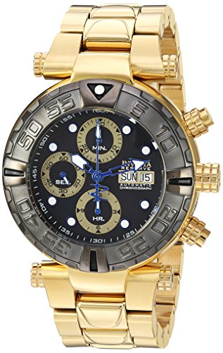 Invicta Men's 'Subaqua' Automatic Stainless Steel Casual Watch, Color:Gold-Toned (Model: 23379)
