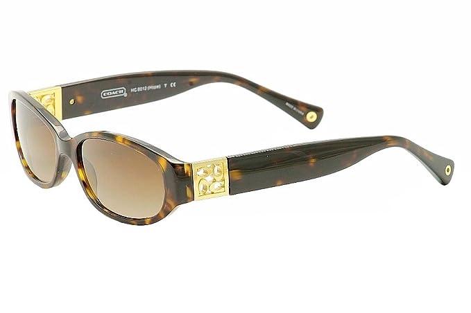 243a8eb39ac2 Coach Hope HC8012 500113 - Dark Tortoise (Dark Brown Gradient Lens) 56mm