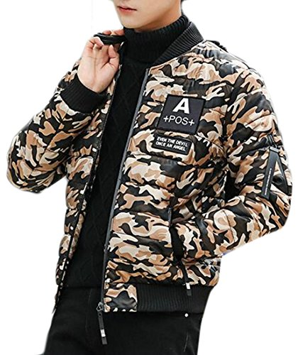 Classic Down Jacket Quilted 3 today UK Winter Bomber Men's Padded Warm Uz0x6z