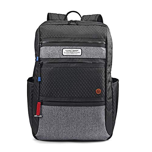 """American Tourister 18"""" Straightshooter Backpack, Black"""