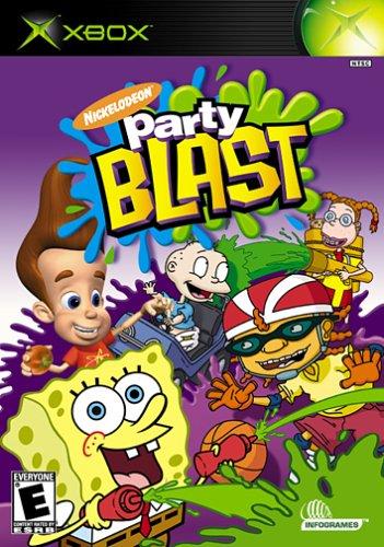 Nickelodeon Party Blast - Xbox (Video Blast)